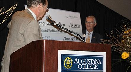 50th Reunion Class Endows Scholarship