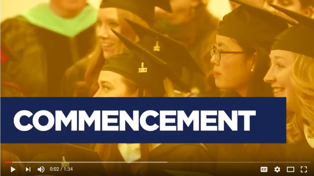 Augustana University Commencement 2017