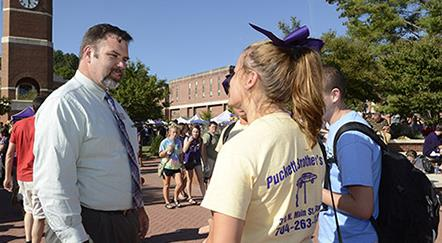 In the News: New Dean of Students at Western Carolina is '89 Grad