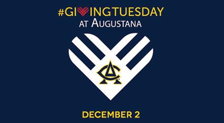 Augustana Joins #GivingTuesday Movement to Encourage Spending with a Purpose