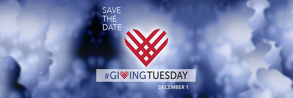Save the date for #GivingTuesday