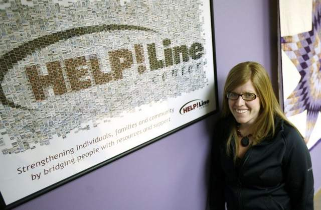 Betsy Homan, HelpLine Center