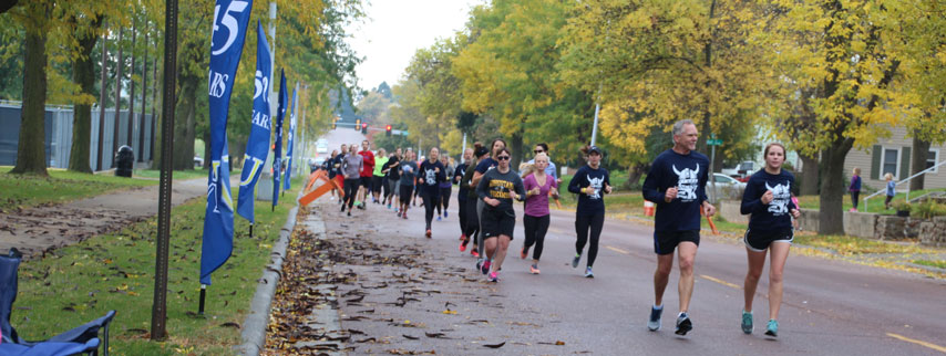 The Langskip 5K is Oct. 14, 2017, at Augustana University.