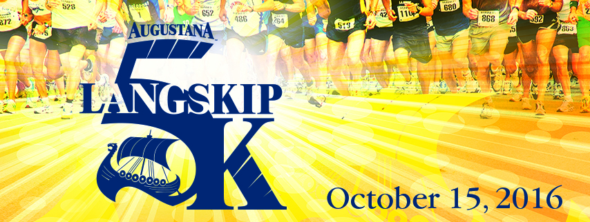 The Augustana Langskip 5K is October 15, 2016